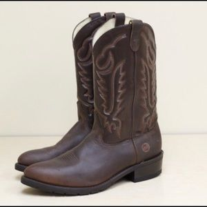 Double H Western Work Boots Mens Size 13